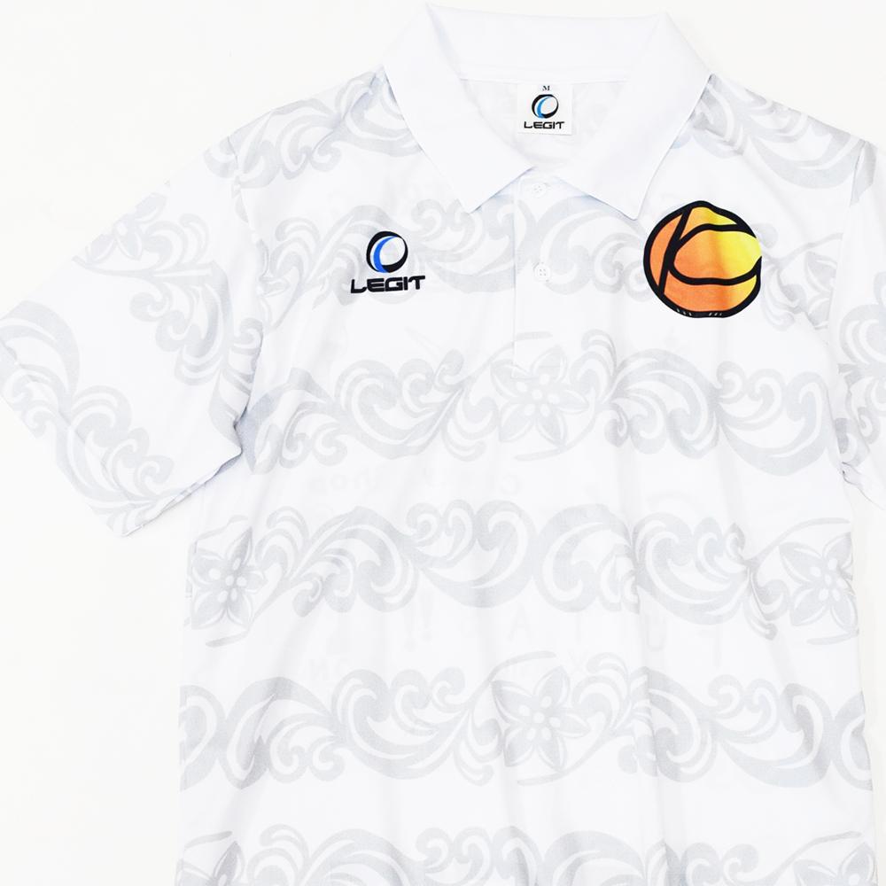 【サッカー・フットサルウェア】昇華プリントでのドライポロシャツ作製